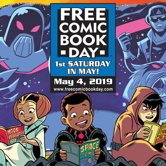 Free Comic Book Day 2019 @ Heroes and Horrors Games | Windsor | Colorado | United States